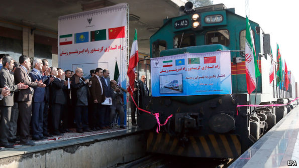 Iran's new continent-spanning trains