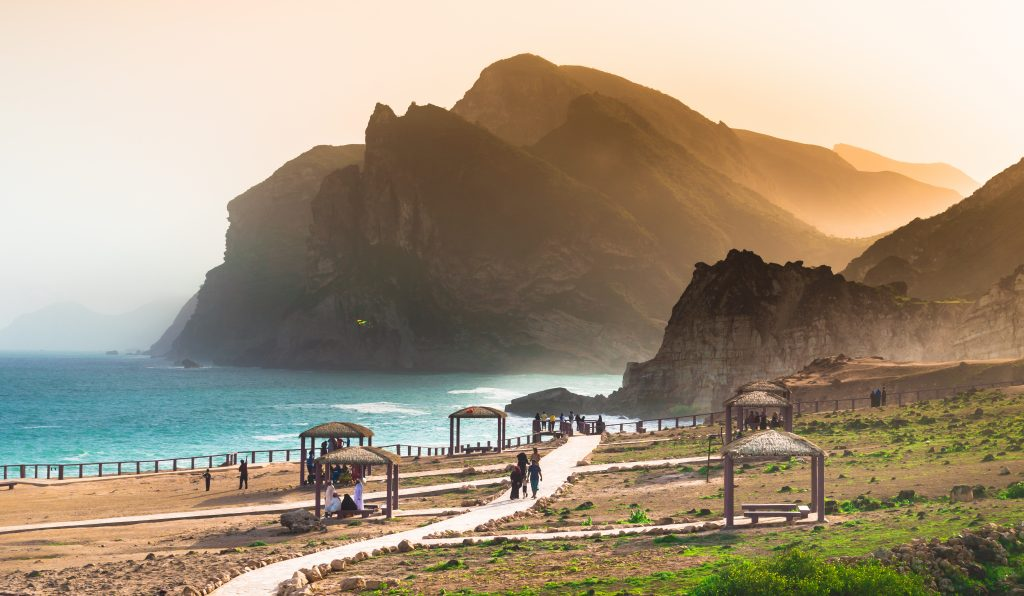 Oman's coastline is the next stop on China's Belt and Road