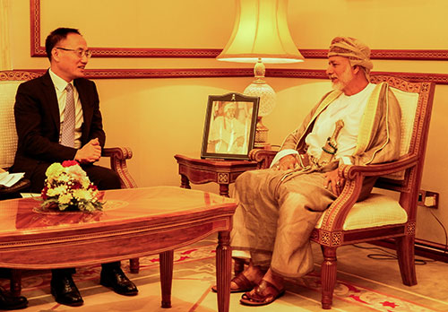 Assitant Foreign Minister Chen Xiaodong visits Oman